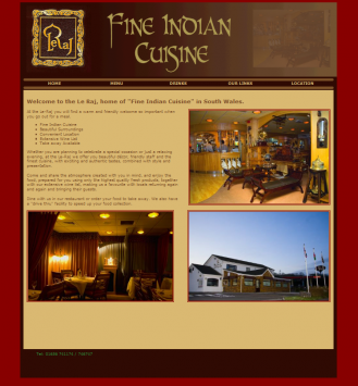 Porthcawl's / South Cornelly's Finest Indian Cuisi