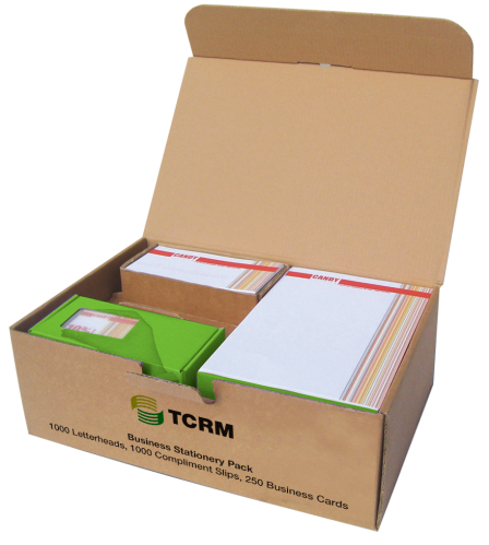 TCRM Business Print Package