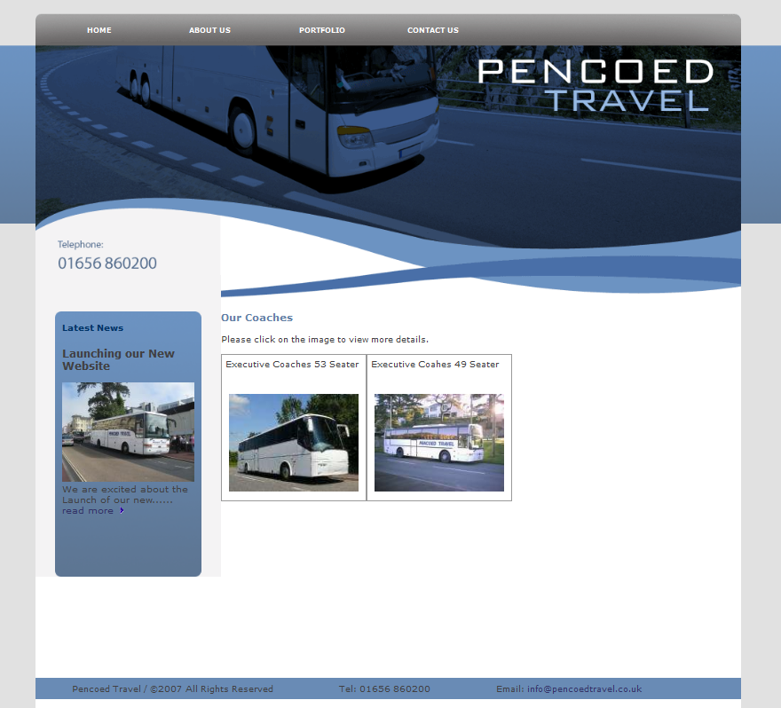 An Image from the Pencoed Travel Website