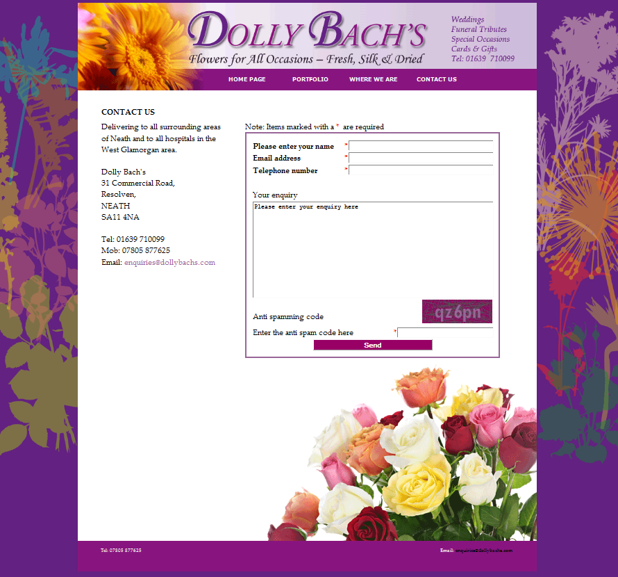 An Image from Dolly Bach's Website