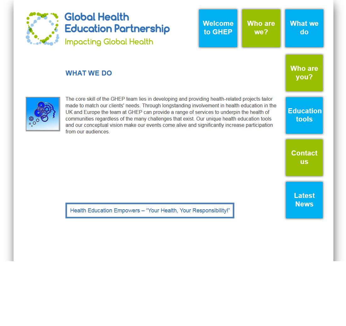 An image from the GHEP website