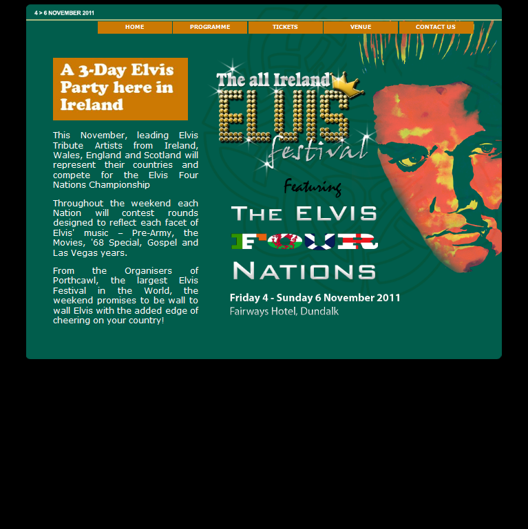 An Image from the All Ireland Elvis Website