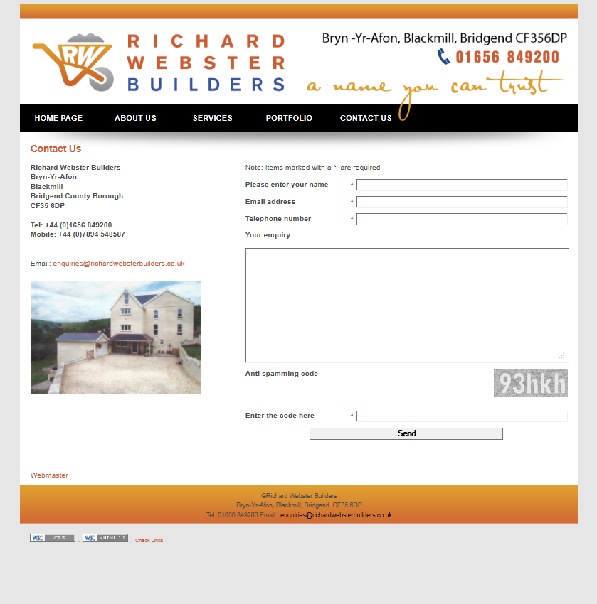 An image from Richard Webster Builders