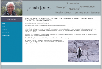 Jonah Jones Web Site