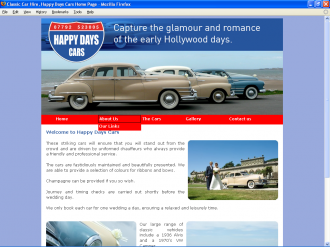 An image from the Happy Days Cars Website