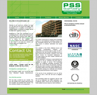 An image from PSS Scaffolding