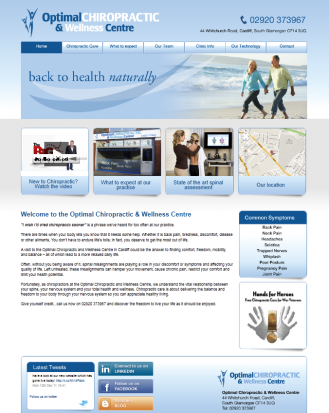 Optimal Chiropractic & Wellness Centre