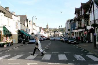 An image of the High St. Cowbridge - Courtesy of Russ Davies