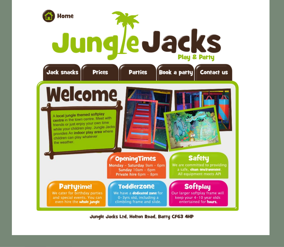 An Image from Jungle Jacks Website