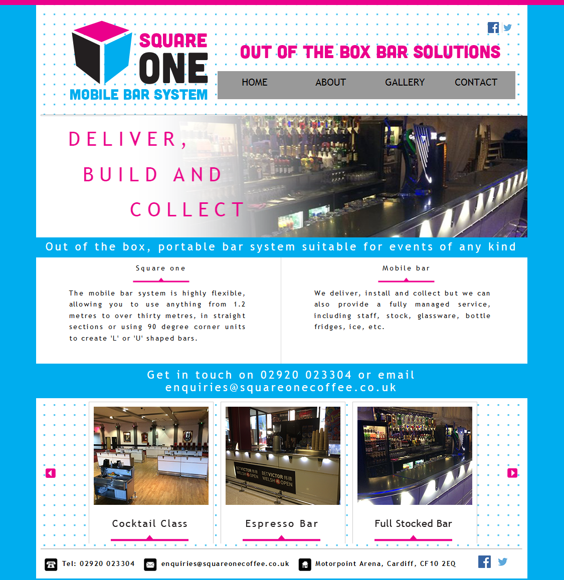An image from the Square One Coffee website