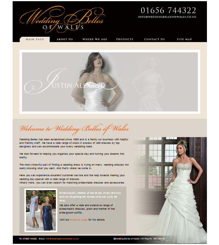An Image from the Wedding Belles Website