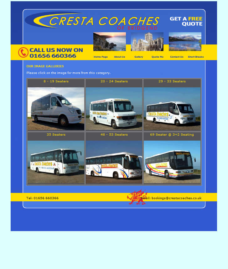 An image from Cresta Coaches Website