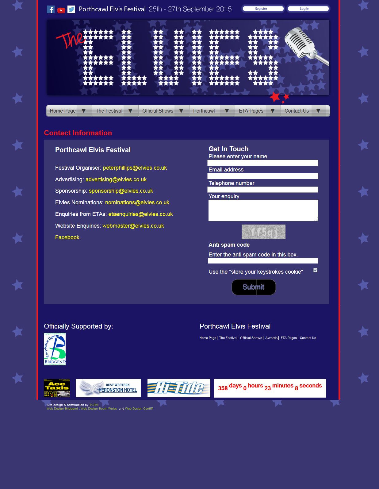 An image from the Elvies web site