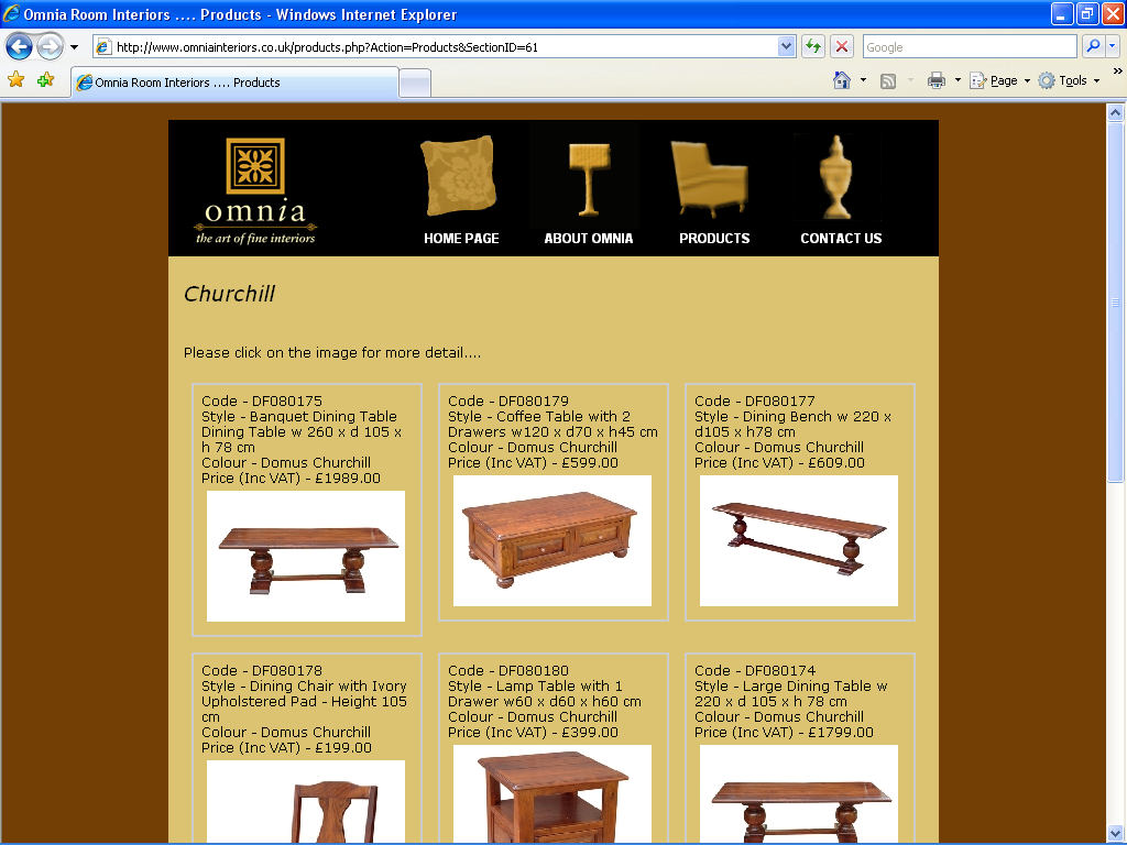 An image from the Omniainteriors Web Site