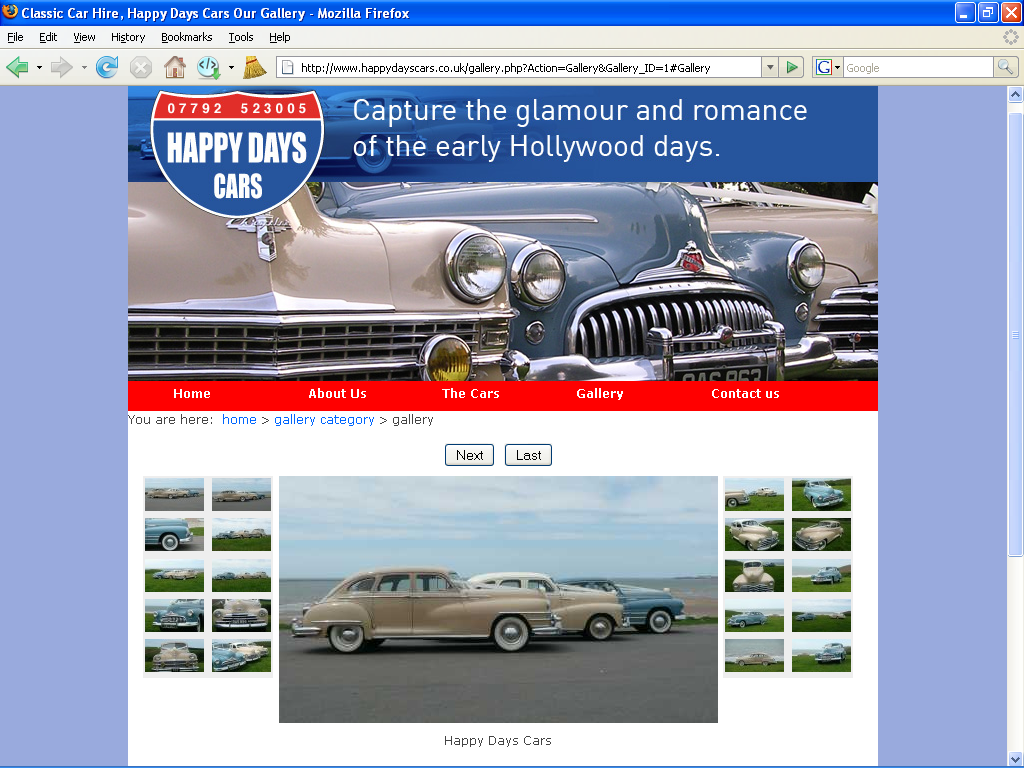 An image from Happy Days Cars