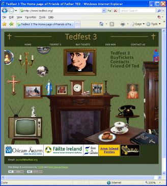 An image from the Tedfest 2009 web site