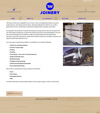 An image from TW Joinery
