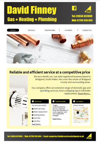 David Finney - Boiler Services