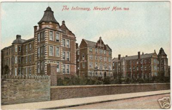 The old Newport infirmary