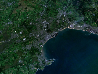 Swansea from Space