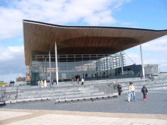 The Senedd - South Wales Graphic Design
