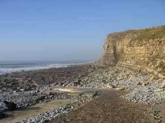 Thanks to John Goodall for this image of Dunraven Bay, Southerndown, Bridgend